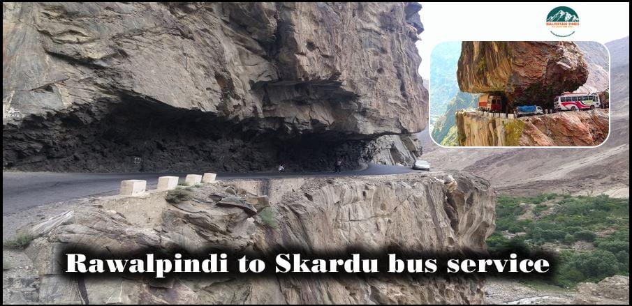 Rawapindi to Skardu bus service and their contact details