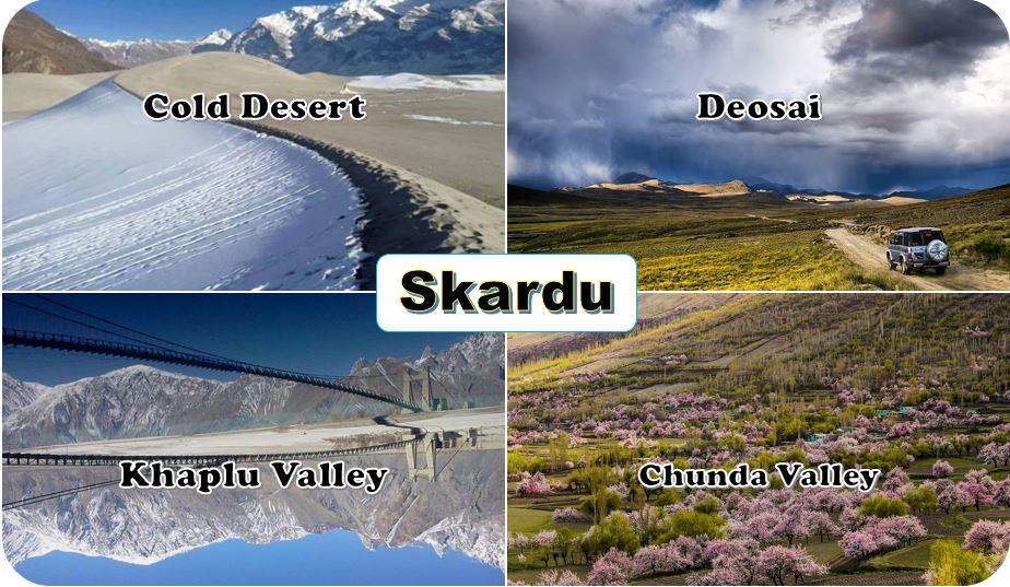 Skardu valley top tourist points