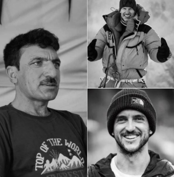 Missing heroes at K2 during winter expedition