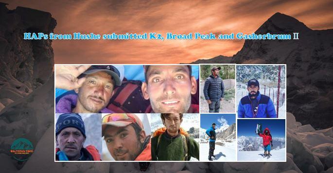 High altitude porters of Hushe Gilgit Baltistan