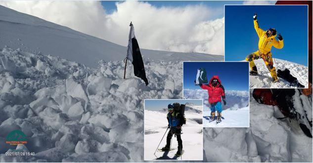 K2 summer 2021 expedition summary